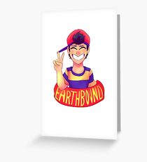 Earthbound - Ness Greeting Card