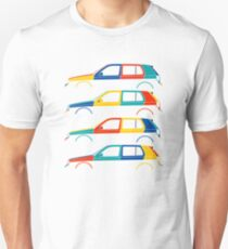 Car silhouette for VW golf mk3 harlequin enthusiasts Unisex T-Shirt