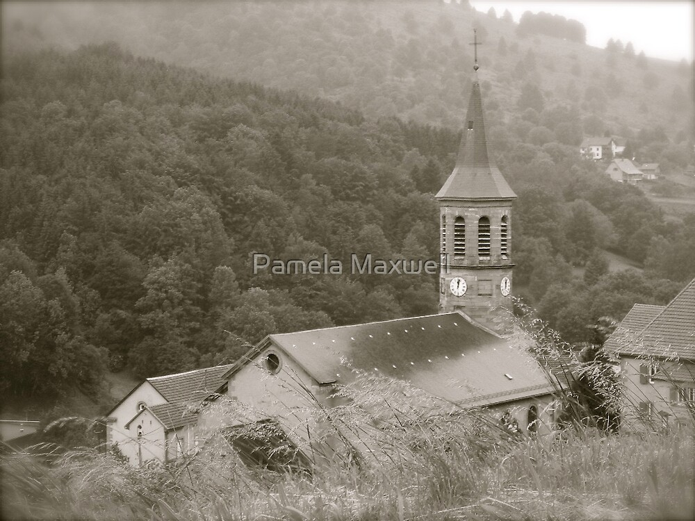 Country Church by Pamela Maxwell