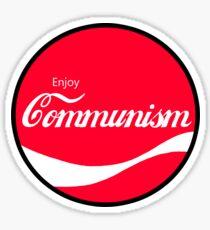 Enjoy Communism  Sticker