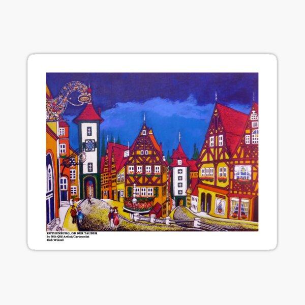Rothenburg Sticker