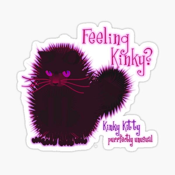 KINKY KITTY - Feeling Kinky Sticker