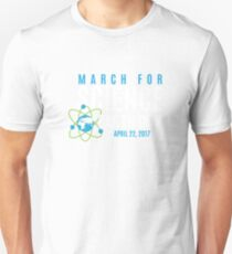 March for Science Earth Day Unisex T-Shirt