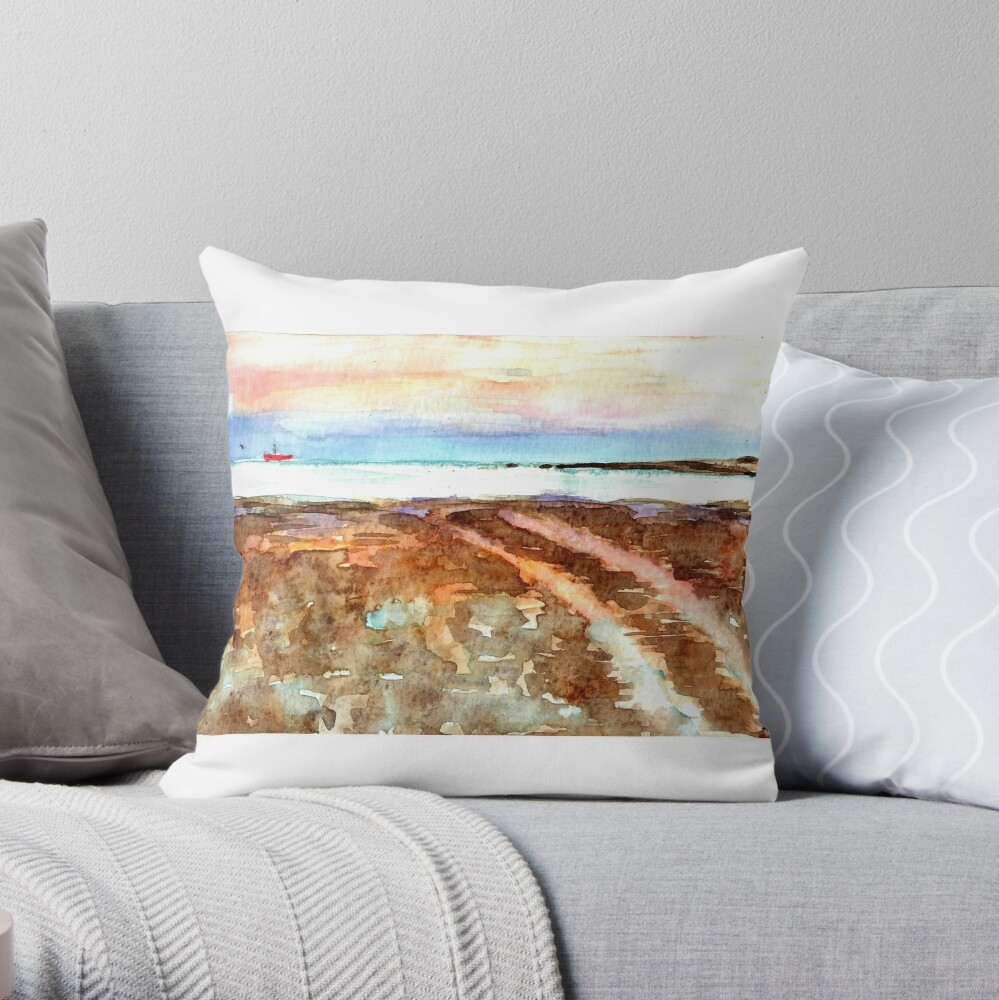 Streaky Bay Throw Pillow