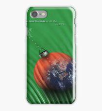 christmas earth iPhone Case/Skin