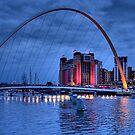 The Baltic, Gateshead, England by Ann Garrett