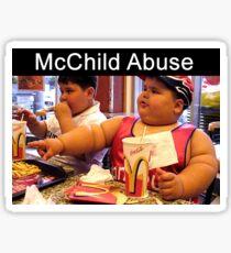 McNasty Drugs For Children Sticker