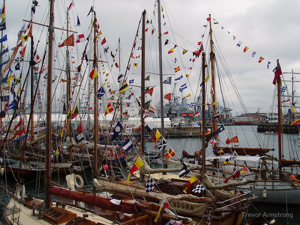 TALL SHIPS by Trevor Armstrong