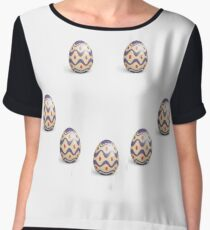 easter egg Chiffon Top