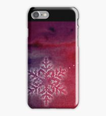snow flake iPhone Case/Skin
