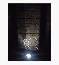 Pinhead in the Dark Photographic Print