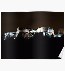 Stirling Castle At Night  Poster
