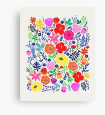 Secret Flower Garden Canvas Print