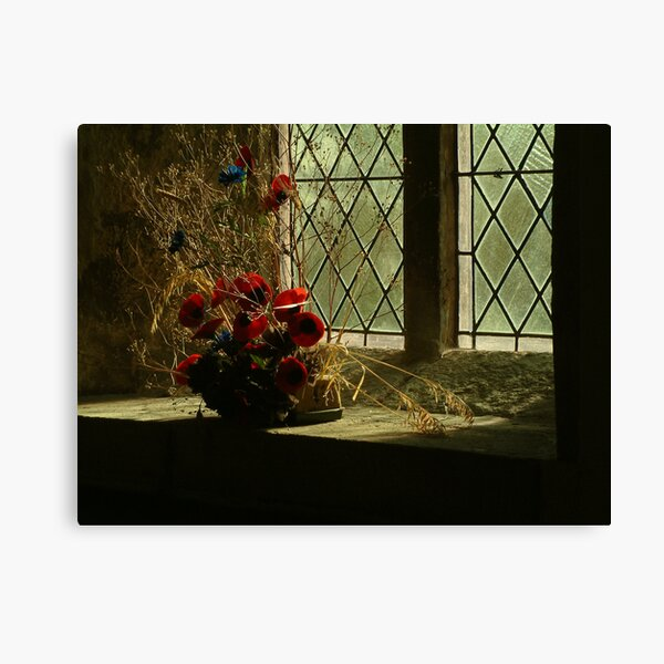 Remembrance {St Wilfrid's, Burnsall, Yourkshire Dales] Canvas Print
