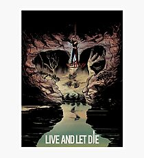 LIVE AND LET DIE art print Photographic Print