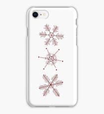 3 Snowflakes Option 1 iPhone Case/Skin