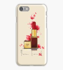 Crimson Noir - TF Lipstick  iPhone Case/Skin