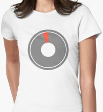 Breath of the Wild Stamina Wheel (Empty) Womens Fitted T-Shirt