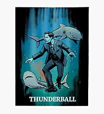THUNDER BALL art print Photographic Print
