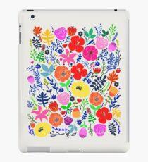 Vinilo o funda para iPad Jardín de flores secreto