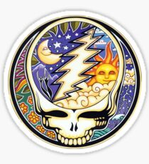 Steal your face (Day & Night - Sun & Moon) Sticker