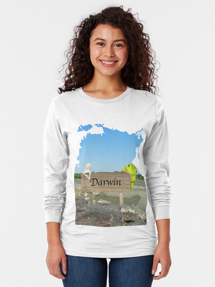 Alternate view of Darwin Long Sleeve T-Shirt