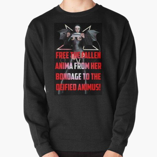 Free The Fallen Anima From Her Bondage Pullover Sweatshirt