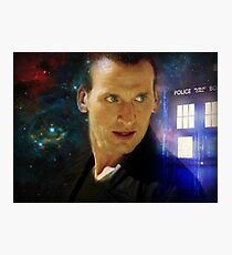 The Ninth Doctor - Christopher Eccleston Photographic Print