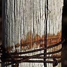 Weathered post by MagnusAgren