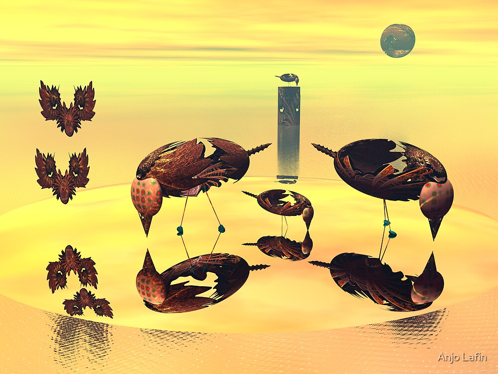 Island of vain birds by Anjo Lafin