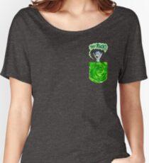 Tiny Rick Pocket Portal Women's Relaxed Fit T-Shirt