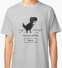 Offline Dinosaur Classic T-Shirt
