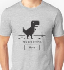 Offline Dinosaur Unisex T-Shirt