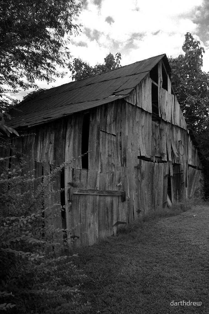 Tobacco Barn by darthdrew