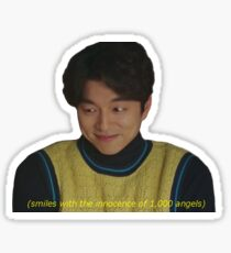 Angelic Kim Shin Sticker