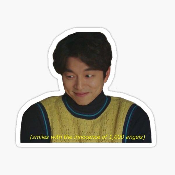 Angelic Kim Shin Sticker
