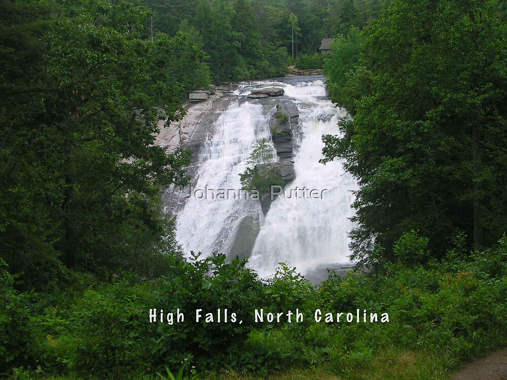 High Falls, North Carolina by Johanna  Rutter
