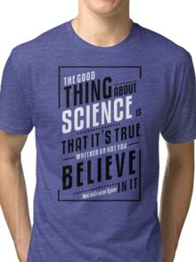 Genius Quote Tri-blend T-Shirt
