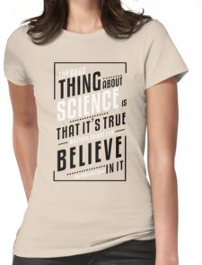 Genius Quote Womens Fitted T-Shirt