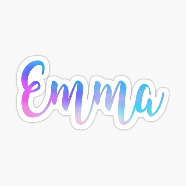 Emma Sticker