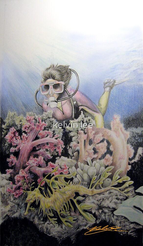 Ocean series 2 of 3 by kelvin lee