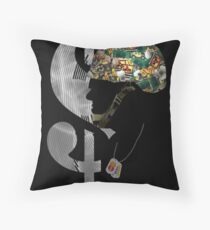 My Wallet is My Weapon - Poster Edition Throw Pillow