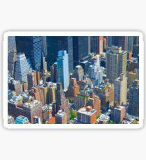 Sim City - New York Style Sticker