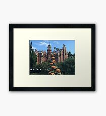 Haunted Mansion - Halloween Framed Print