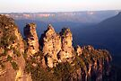 The Three Sisters, Blue Mountains, Australia by Michael Boniwell