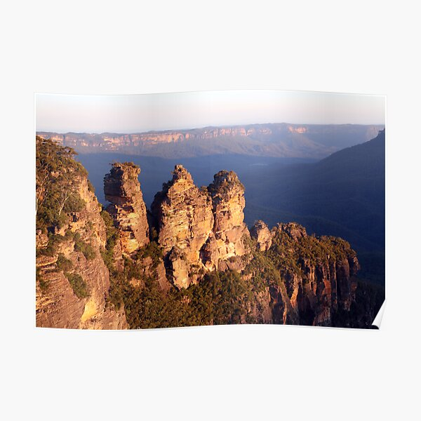 The Three Sisters, Blue Mountains, Australia Poster