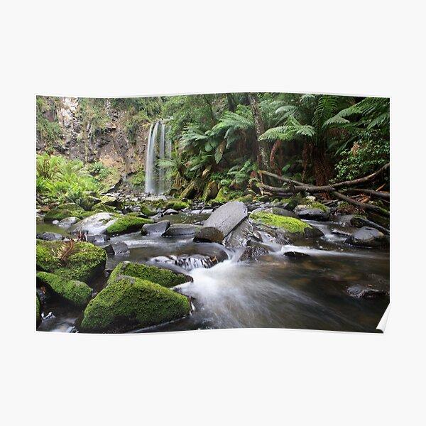 Hopetoun Falls, Otway Ranges, Australia Poster