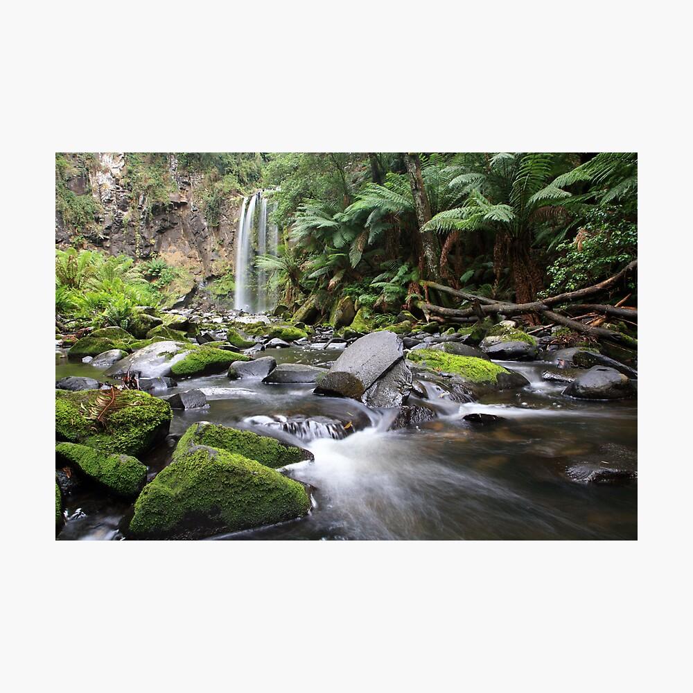 Hopetoun Falls, Otway Ranges, Australia Photographic Print