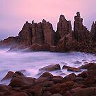 The Pinnacles at Sunrise, Philip Island, Australia by Michael Boniwell