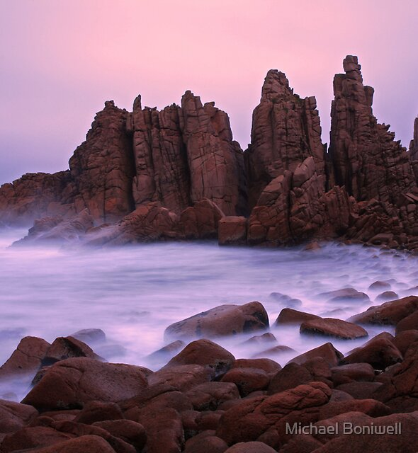 The Pinnacles at Sunrise, Philip Island, Australia by Michael Boniwell